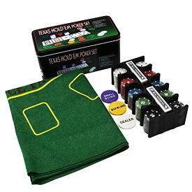 phoenixj テキサスホームデム 入門セット カジノゲーム トランプ チップ テーブルゲーム 初心者