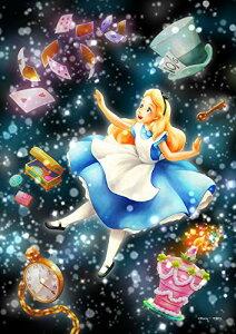 266ピース ジグソーパズル ディズニー キラキラ眩しい不思議な夢(アリス) ぎゅっとピース 【ステンドアート】 (18.2x25.7cm)