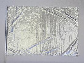 カラーガード フラッグ Tissue Lame Solid Flag Rectangle 89cm X 132cm (シルバー)