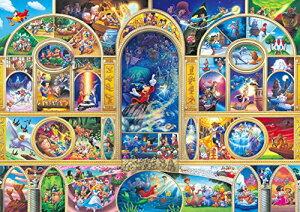 108ピース ジグソーパズル ディズニーオールキャラクタードリーム (18.2x25.7cm)