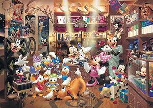 1000ピース ジグソーパズル ディズニー マジックショップ 世界最小1000ピース(29.7x42cm)