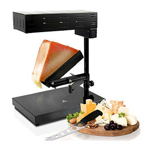 NutriChef ラクレット Raclette Cheese MelterBlack (PKCHMT18) by NutriChef [並行輸入]