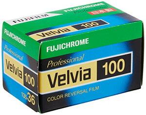 FUJIFILM リバーサルフィルム フジクローム Velvia 100 35mm 36枚 1本 135 VELVIA100 NP 36EX 1