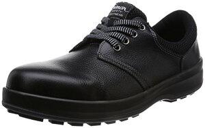 [シモン] 安全靴 短靴 JIS規格 耐滑 耐油 快適 軽量 クッション WS11黒 黒 28.0 cm 3E