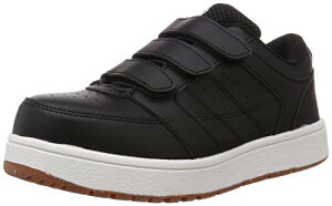 [富士手袋工業] 安全靴 作業靴 セーフティスニーカー 23~30cm展開 耐滑 53-70 ブラック 27.0 cm 3E
