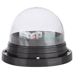 電動 ダイスカップ 自動 サイコロ ゲーム 振り機 ダイス5個セット 電池式 パーティー ゲーム 遊び