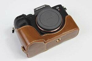 対応 Sony ソニー PEN A7R4 A7R IV α7R4 α7R IV ILCE-7RM4 A9 II A9 Mark II ソニーアルファ7R IV カメラケース カメラカバー カメラバッグ カメラホルダー、【KOOWL】ハンドメイドのPUレザーカメラベース保護