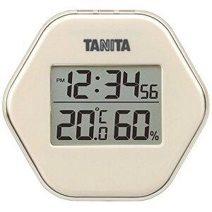 タニタ(TANITA) 温度計・湿度計 アイボリー デジタル デジタル温湿度計 TT-573-IV
