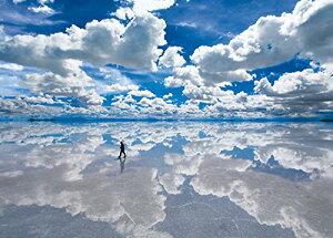 2000ピース ジグソーパズル ウユニ塩湖?ボリビア 世界最小スーパースモールピース(38x53cm)