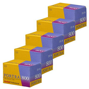 Kodak プロフェッショナル コダック カラーネガフィルム PORTRA 800 135-36 (5本パック)