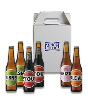 ♦ Minoh beer 4 6 piece set