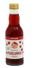 Lapin Maria ラピン・マリア リンゴンベリージュース賞味期限:2022年01月08日 コケモモ フィンランド 北欧 オーガニック