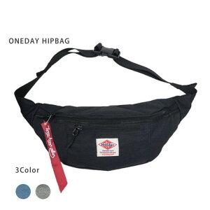 【 ワンデイヒップバッグ 】バッグ 鞄 Bag カバン ショルダー ボディバッグ ボディーバッグ ウエストバッグ ウエストポーチ ヒップバッグ かっこいい ストリート ワンショルダー メンズ レデ