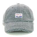 ☆【 ワッペン ボア ローキャップ 】 帽子 キャップ cap boa ボア キャップ ワッペンキャップ ベルト調節可 秋 冬 も…
