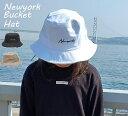 \再再入荷☆/大人気!【ニューヨーク バケットハット】[送料無料メール便] 帽子 バケット ハット Bucket HAT 帽子 …