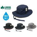 \再入荷♪/【 ロゴス 撥水 サファリハット 】[送料無料メール便] 帽子 LOGOS hat ハット アドベンチャーハット 撥水…