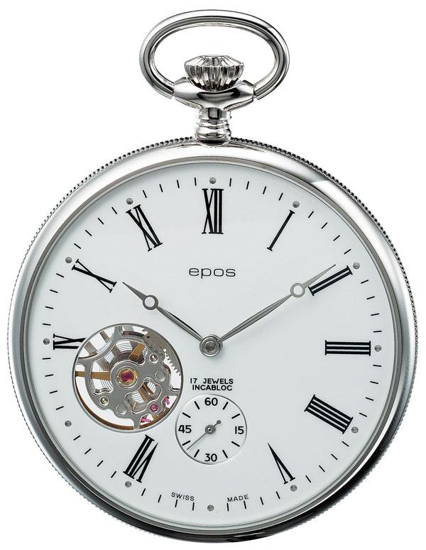 ウオッチ・トラベルケース プレゼント【正規品】 懐中時計 エポス EPOS   Pocket Watch  2090 02P11Apr15