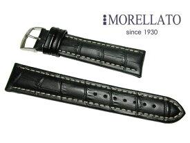 モレラート MORELLATO 時計バンド プラス  PLUS カーフ型押 黒 ブラック 02P10Jan15