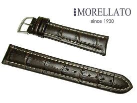 モレラート MORELLATO 時計バンド プラス  PLUS カーフ型押 ダークブラウン 02P10Jan15