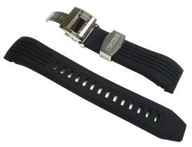 時計ベルト 22mm セイコー SEIKO ASTORON アストロン SBXB015 純正シリコンラバーベルト ブラック(黒) バンド 8Xシリーズに装着可能 R01Z011J0【送料無料】