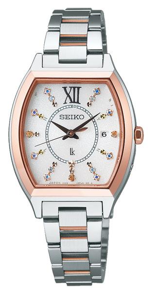 腕時計 セイコー LUKIA ルキア ソーラー電波時計 SSVW112 クリスマス限定モデル 3,300本 レディース 正規品