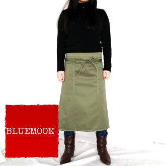 橄欖綠色的圍裙促銷/大减價