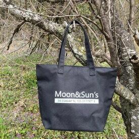 当店のロゴ入りオリジナルエコバッグ【Moon&Suns】