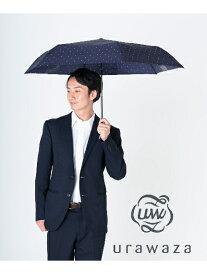 urawaza(ウラワザ)【公式ムーンバット】【雨傘】3秒でたためる ウラワザ (urawaza) ドット 折りたたみ傘 レディース メンズ UV ギフト 楽々開閉 軽量 晴雨兼用 グラスファイバー 超撥水 父の日