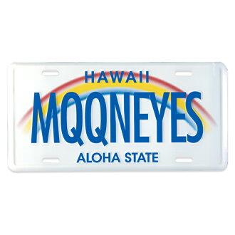 MOONEYES (문아이즈) 하와이 라이센스 플레이트