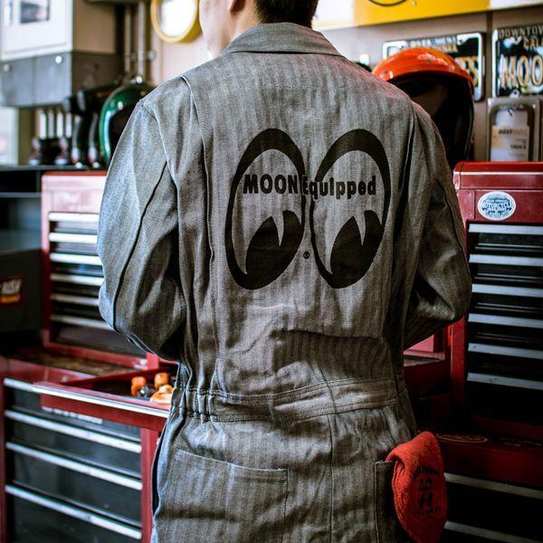 MOON Equipped (ムーン イクイップド) カバーオール FS 長袖)