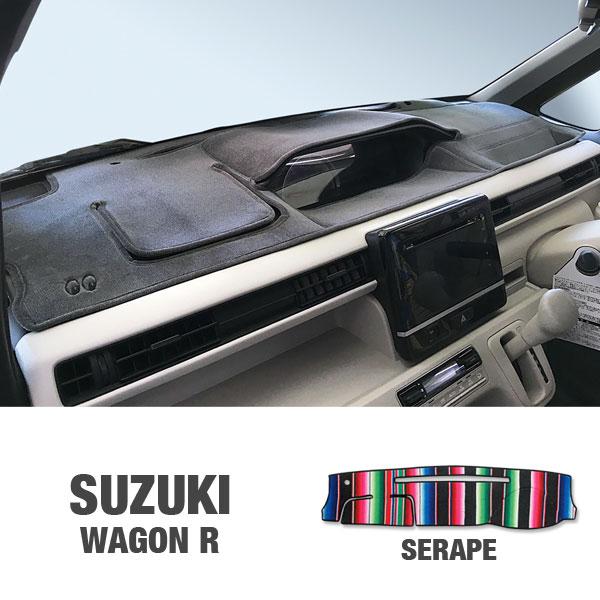 SUZUKI WAGON R (2017〜) (スズキ ワゴンR) 用 オリジナル サラぺ DASH MAT(ダッシュマット)