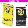 MOONEYESiPhoneX,XSフリップケース