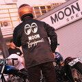MOONEquipped(ムーンイクイップド)ロゴボアコーチジャケット