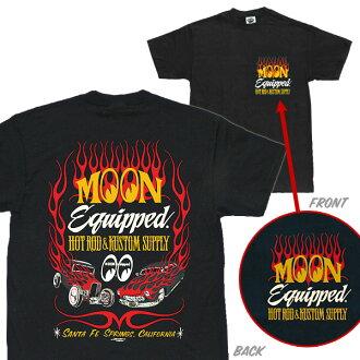 MOON Equipped hot rod custom supply T shirts