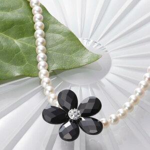 オニキス ショートナー Flower ショートナー ・ L (フラワー ショートナー・ブラック) レディース