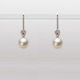 あこや真珠 パール ピアス 6.0mm アコヤ 真珠 ピアス K18WG ホワイトゴールド レディース HA00060R12CG0885W0