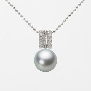 パール ネックレス 一粒 あこや真珠 8.5mm アコヤ 真珠 ペンダント K18WG ホワイトゴールド レディース HA00085R12SG01278W ムーンレーベル Moon Label