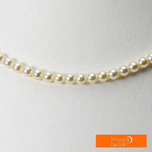 ベビーパール ネックレス あこや真珠 4.0mm ベビーパール アコヤ 真珠 パール ネックレス レディース CA00040R13CG000000 ムーンレーベル Moon Label