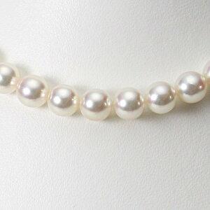 あこや真珠 パール ネックレス 9.0mm アコヤ 真珠 ネックレス レディース CA00090O31CW000000