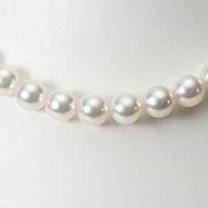 あこや真珠 パール ネックレス 9.0mm アコヤ 真珠 ネックレス レディース CA00090O32WPG00000