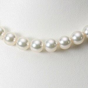 あこや真珠 パール ネックレス 9.0mm アコヤ 真珠 ネックレス レディース CA00090O33WPG00000