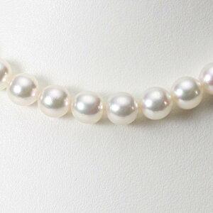 あこや真珠 パール ネックレス 9.0mm アコヤ 真珠 ネックレス レディース CA00090O53WPG00000
