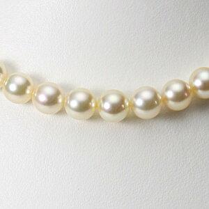 【ポイント10倍】 あこや真珠 パール ネックレス 9.0mm アコヤ 真珠 パール ネックレス レディース CA00090R12CG000000 ムーンレーベル Moon Label