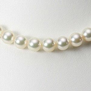 あこや真珠 パール ネックレス 9.0mm アコヤ 真珠 ネックレス レディース CA00090R12CW000000
