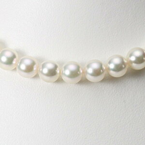 あこや真珠 パール ネックレス 9.0mm アコヤ 真珠 ネックレス レディース CA00090R13WPG00000