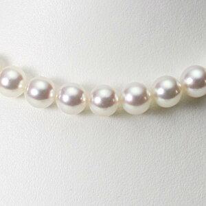 あこや真珠 パール ネックレス 9.0mm アコヤ 真珠 ネックレス レディース CA00090R23WPN00000