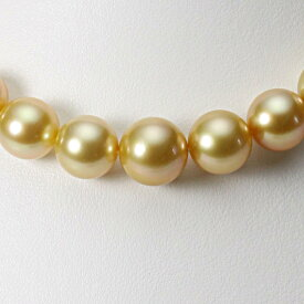 【ポイント10倍】 南洋真珠 パールネックレス 10-12mm 白蝶 真珠 ネックレス レディース GW01210R23NG000000