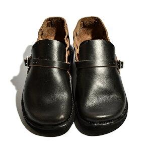 【送料無料】FernandleatherフェルナンドレザーオーロラシューズメンズMiddleEnglishミドルイングリッシュスリッポンサンダル革靴ホーウィン社クロムエクセルレザーコンフォートクロムエクセルレザーコンフォート