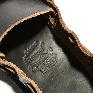 【送料無料】FernandleatherフェルナンドレザーオーロラシューズレディースMiddleEnglishミドルイングリッシュスリッポンサンダル革靴ホーウィン社クロムエクセルレザーコンフォート