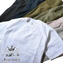 【20%OFFクーポン配布中】ANATOMICA アナトミカ ポケT ポケTEE 半袖 Tシャツ 無地 カットソー メンズ レディース MADE IN USA アメリカ製